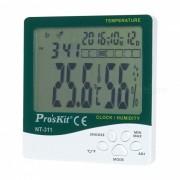 Pro 's kit NT-311 3.9' 'medidor de la humedad de la temperatura del LCD (1 * AAA)