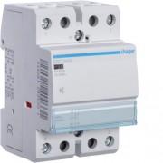 Hager, Csendes moduláris kontaktor 40A, 2 Záró érintkező, 230V AC 50 Hz (Hager ESC240S)