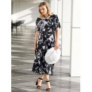 m. collection Keerbare jurk m. collection Zwart::Wit