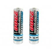 2 buc Baterii reîncărcabile NiMH AA 2300 mAh 1,2V