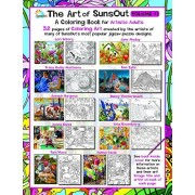 The Art of SunsOut Volume # 1 - Adult Coloring Book: A Coloring Book for Artistic Adults