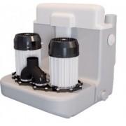 Pompa pentru ape uzate SaniCOM 2 - spalatorii, dus, lavoar, bideu, masina de spalat