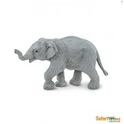 Safari LTD Asian Elephant Set - Adult Elephant and Baby Elephant