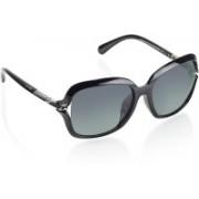 Azzaro Over-sized Sunglasses(Black)