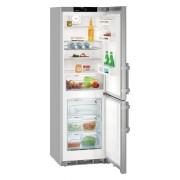 Combina frigorifica Liebherr CNef 4335, 321 L, No Frost, Display, Control electronic, Alarma usa, Raft sticle, SuperCool, H 185 cm, A+++, Inox, Finisaj antiamprenta