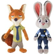 Couture store's Combo Pack of Juddy HOPP Rabbit and Nike Wilde Fox Soft Toy for Kids,Babies,Teens