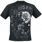 Iron Maiden Number Of The Beast Herren-T-Shirt - Offizielles Merchandise M, L, XL, XXL Herren