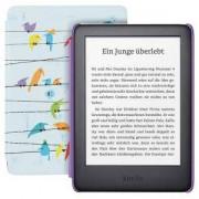 Електронен четец за деца Kindle Kids Edition, 10 Generation – 2019, 6 инча, 8GB, достъп до повече от хиляда книги, rainbow birds калъф
