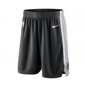 San Antonio Spurs Nike Icon Edition Swingman NBA-Herrenshorts - Schwarz
