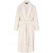 Cawö Bademantel edler Ripp-Struktur Cawö beige