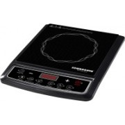 Sowbaghya Sarvam Plus (Without Pot) Induction Cooktop(Black, Push Button)