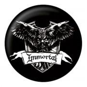 Immortal kitűző - Crest - NUCLEAR BLAST - 24781