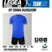 Legea - Completo Calcio Kit Crimea Con Pantalone Dusseldorf