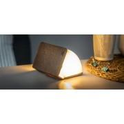 """Gingko Rozkládací světlo """"Smart Book"""" mini, hnědá látka - Gingko"""