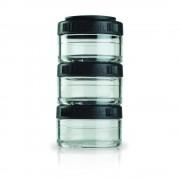 Blender Bottle Go Stak - 3x60ml - Schwarz