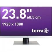 "Wortmann AG TERRA LED 2462W monitor piatto per PC 60,5 cm (23.8"") Full HD Nero, Argento"