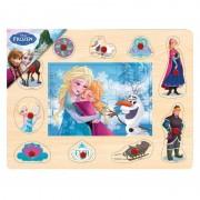 Puzzle Disney Mozaic Frozen BRIMAREX 6 piese