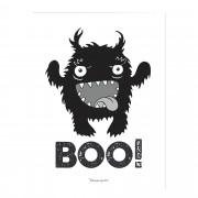 Bloomingville Affisch BOO!
