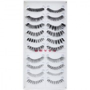 Eye Lashes 10 Pairs Mixed Styles False Eyelashes Eye Lashes Extension Make up Party