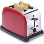Prajitor de paine Bestron DTO3091 1000W 2 felii Rosu-Inox