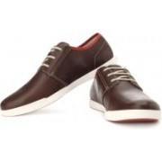 Clarks Nadon Place Corporate Casuals For Men(Brown, Red)