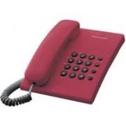 Telefon Panasonic KX-TS500FXR, crvena, Žični, 24mj