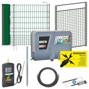 VOSS.farming Complete Kit for Premium Poultry Fence (Net + Gate)