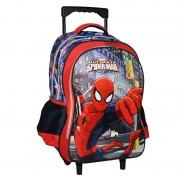 Ghiozdan tip troler Spiderman, 44 x 28 x 16 cm