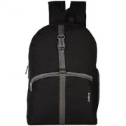 LeeRooy Nylon 20 Liter Black 17-Inch Laptop Backpack r-10