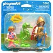 Playmobil 5882 Ocean Mermaid Set - King, Princess and Seahorse