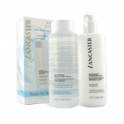 Lancaster Softening Duo (Limited Edition): Cleansing Milk 400ml + Toner 400ml 2pcs