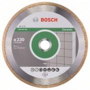 Диск диамантен за рязане Standard for Ceramic, 230 x 25,40 x 1,6 x 7 mm, 1 бр./оп., 2608602538, BOSCH
