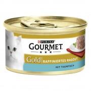 Gourmet Gold Tartelette 12 x 85 g - Pollo y zanahorias