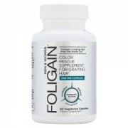 Anagen Research Foligain Anti Gray - Integratore Alimentare Naturale Contro I Capelli Grigi - 60 Capsule