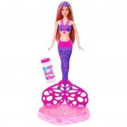 Sirena Barbie cu baloane de sapun Mattel