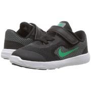 Adidasi baietei Nike Revolution negru verde
