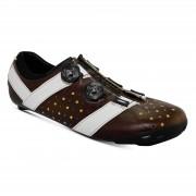 Bont Vaypor + Road Shoes - EU 42 - Brown/White