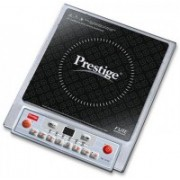 Prestige 1900 Watts Induction Cooktop(Silver, Black, Push Button)
