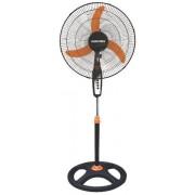 Ventilator cu picior Albatros V45B, 3 Viteze, 60W, 45 cm (Negru/Portocaliu)