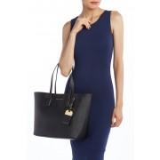 Marc Jacobs Luggage Tag Tote Bag BLACKWHITE