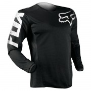 Fox Blackout Camiseta de Motocross Negro L