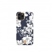 KINGXBAR Flower Series PC Phone Cover with Magnetic Sheet for Apple iPhone 11 6.1 inch - Lily