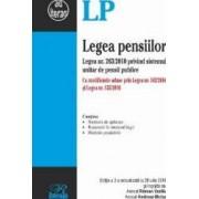 Legea pensiilor act. 20 iulie 2016