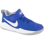 Nike Blauwe Team Hustle Quick 2 velcrosluiting