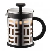 Bodum EILEEN Cafetière à piston, 4 tasses, 0.5 l, acier inox Brillant