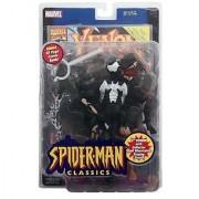 Spiderman Classics: Venom (Eddie Brock) Action Figure - Marvel - Bonus 32pg Comic - Mint in Package - Collectible - (D)