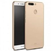 Husa MSVII Aurie + Folie Protectie Sticla Pentru Huawei Honor 8 Pro Honor V9