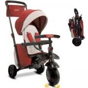 Детска сгъваема триколка 7 в 1, smarTfold, червена, 011066
