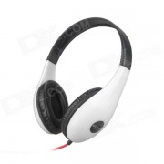 DITMO DM-4700 Auriculares estereo para Iphone / Ipad / Ipod - Negro + Blanco (3.5mm Plug / 1.2m)