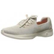 Skechers Performance Women's Go Walk 4 All Day Walking Shoe, Taupe, 10 M US